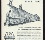 K&M Asbestos Pipe advertisement