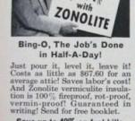 Bing Crosby Advertising Zonolite