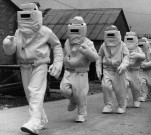 1950's asbestos fire suits